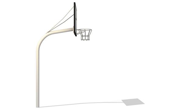 streetballst nder 2 60m mit rechteckigem zielbrett fritz m ller gmbh. Black Bedroom Furniture Sets. Home Design Ideas