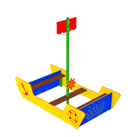 Piratenschiff MINI