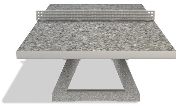 tischtennisplatte freistehend fritz m ller gmbh. Black Bedroom Furniture Sets. Home Design Ideas